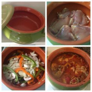 Red Chicken Stew recipe
