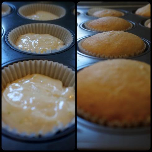 homemade Coco-Lime Cupcakes