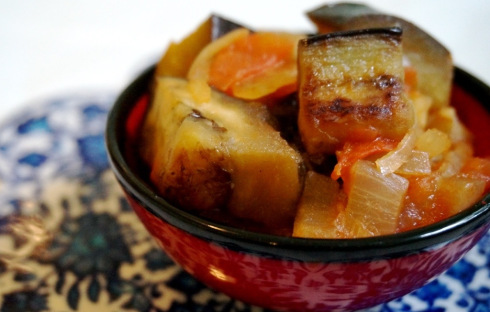 homemade Turkish Fried Eggplant