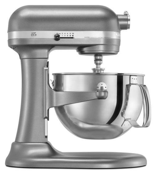 KitchenAid KP26M1PSL Professional 600 Series 6Quart Stand Mixer